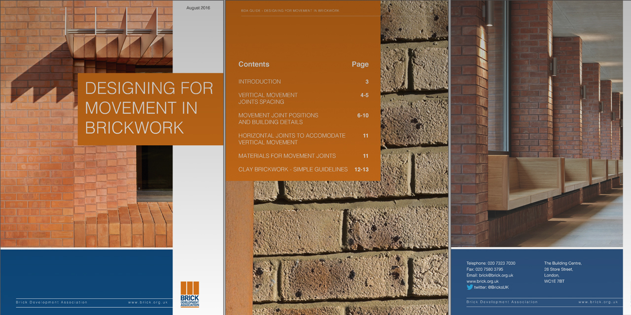 Published: Designing for Movement in Brickwork