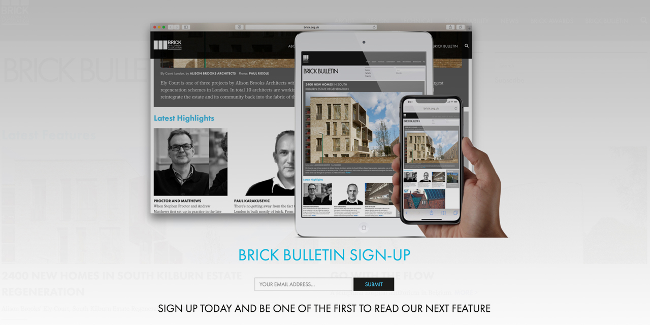 Brick Bulletin relaunched