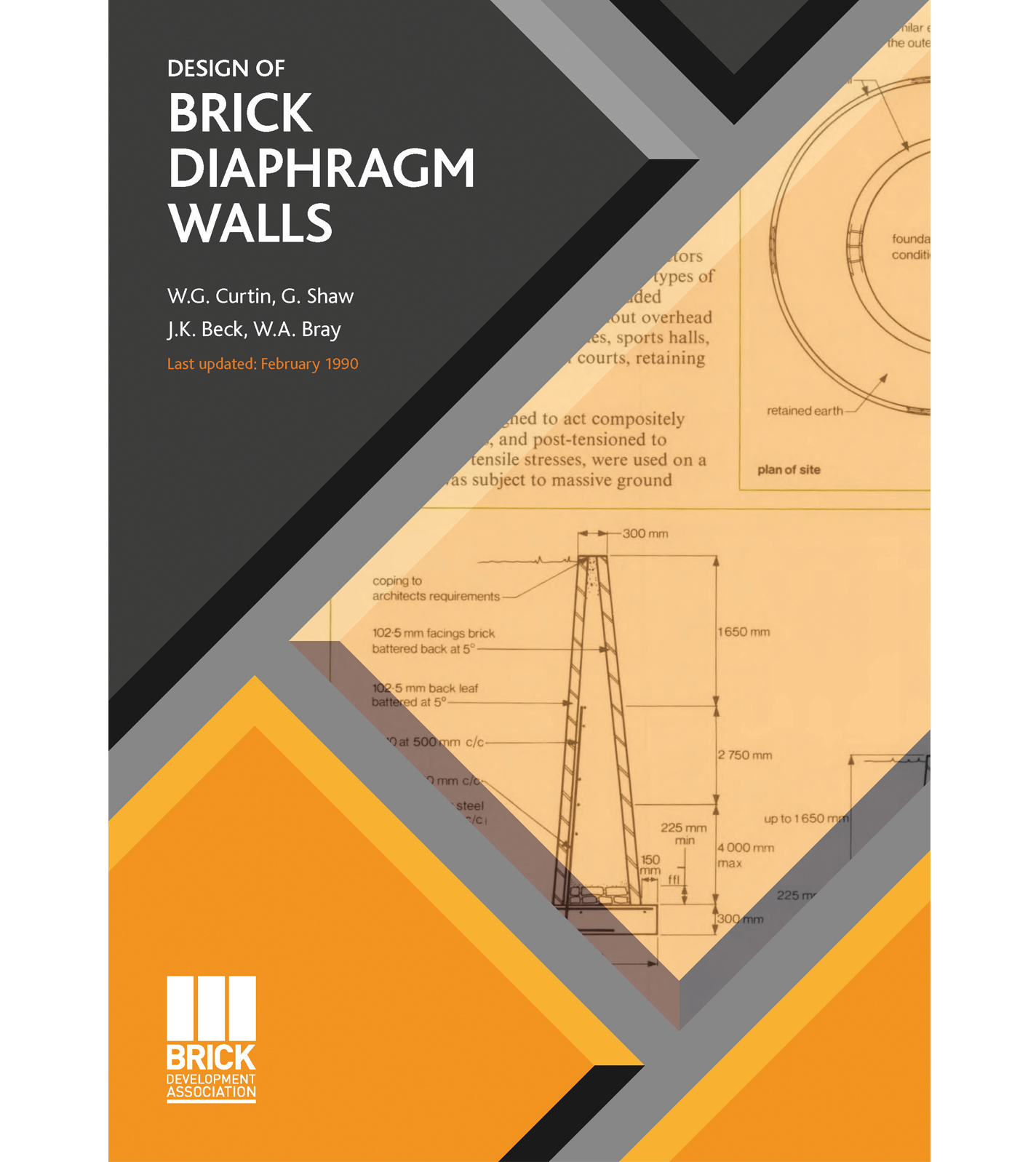 BRICK DIAPHRAM WALLS
