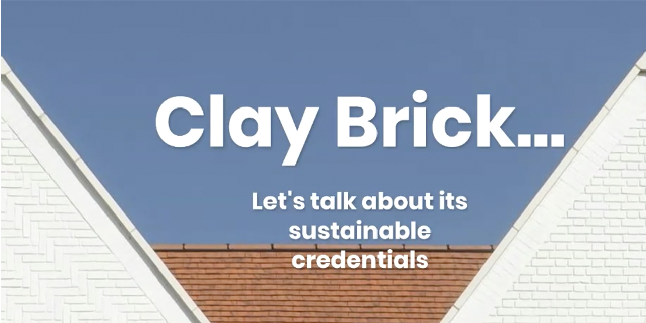 Clay Brick... Let's Talk about Sustainability